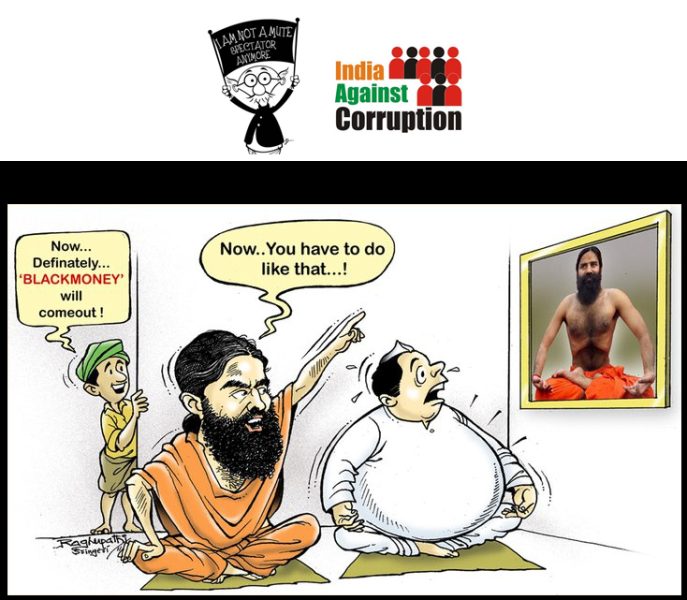 India Against Corruption Cartoon