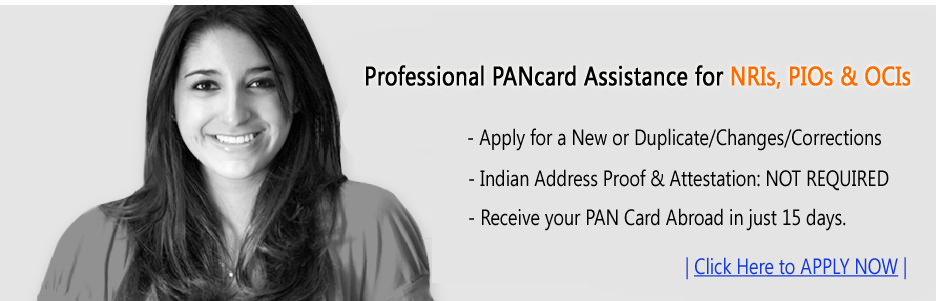 PAN Card Application for NRI