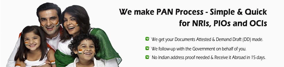 PAN Card NRI agent